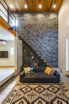 Home Stairs Design, Loft Interior Design, Loft Design, Casa Loft, Loft House, House Stairs, Small House Design, Dream Home Design, Small Loft Apartments