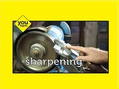 Sharpening the Negative Rake Scraper - YouTube