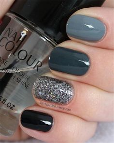 39 Trendy Fall Nails Art Designs Ideas - Hair and Beauty eye makeup Ideas To Try. - Nail art diy 39 Trendy Fall Nails Art Designs Ideas - Hair and Beauty eye makeup Ideas To Try. Square Nail Designs, Fall Nail Art Designs, Shellac Nail Designs, Grey Nail Designs, Beautiful Nail Designs, Cute Nails, Pretty Nails, My Nails, Cute Fall Nails
