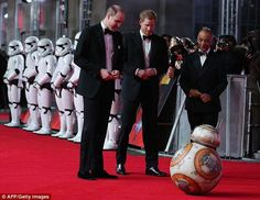 Prince William and Prince Harry looked dapper in suits and bow ties as they arrived for the European premiere of Star Wars: The Last Jedi at Royal Albert Hall Prince William And Harry, Prince Henry, Prince Harry And Meghan, Duke And Duchess, Duchess Of Cambridge, Royal Princess, Princess Diana, Royal Albert Hall, Last Jedi