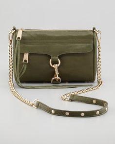 Rebecca Minkoff Mini M.A.C. Crossbody Bag, Sage