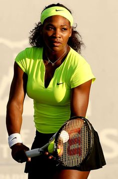 Serena Williams Tennis Has four gold medals in the olympics. Very good at tennis. Serena Williams Tennis, Venus And Serena Williams, Vanessa Williams, Tennis Outfits, Tennis Clothes, Rafael Nadal, Roger Federer, Maria Sharapova, Mode Tennis
