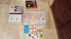Where In The USA World Is Carmen SanDego? Board Game Mystery Geography #UniversityGames
