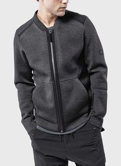 ISAORA | Neo Bomber Jacket (Charcoal)
