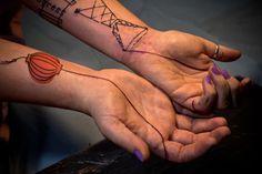 arte na pele do tatuador Lionel Fahy