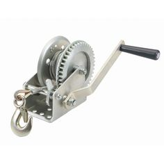 Haul-Master 65688 1000 lb. Capacity Hand Winch, Harbor Freight Sep 2013