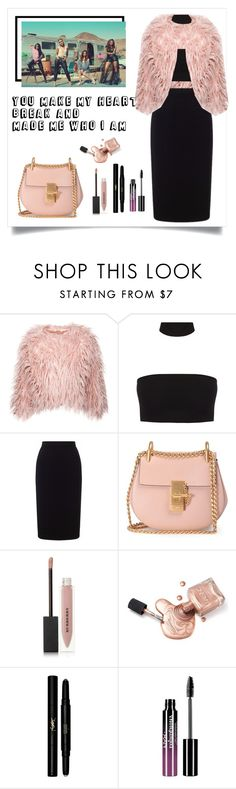 """Shout Out To My Ex - lyrics"" by ellmoonlightqueen ❤ liked on Polyvore featuring Roland Mouret, Chloé, Burberry, Yves Saint Laurent and Charlotte Russe"