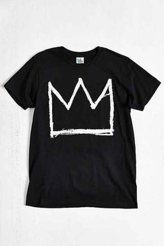 Junk Food Basquiat Crown Tee - Urban Outfitters