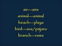 CLASES DE INGLES BASICO #60. VOCABULARIO EN INGLES - NATURALEZA