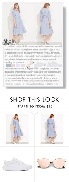 """""""Shein"""" by sonila-vl ❤ liked on Polyvore featuring beauty, Vans and shein"""