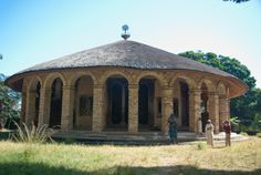 Ancient monastery in Ethiopia