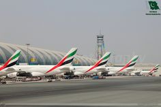 Dubai International Airport, DXB/OMDB, Dubai, UAE