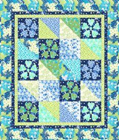 modern applique quilt patterns | Free Quilt Pattern