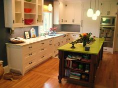 Not a great kitchen, but I like the idea of mixing materials...