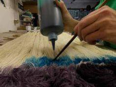 How to hand paint yarn, Kentucky Blue Fiber Co. #dyeingyarn #yarndye #kentuckybluefiber