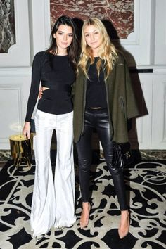Kendall Jenner and Gigi Hadid | Balmain After-Party