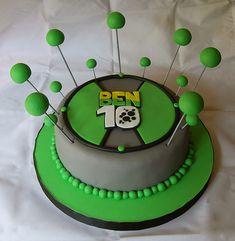 Ben 10 | CONTACTO: info@marianapugliese.com.ar -CLICK PARA V… | Flickr Kids Birthday Cupcakes, Ben 10 Birthday, Ben 10 Cake, Jake Cake, Birthday Celebration, Bolo Do Ben 10, Ben 10 Party, Ideas Para Fiestas, Birthday Cakes