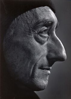 Jacques Cousteau by Yousuf Karsh