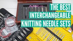 Interchangeable Knitting Needles, Knitting Needle Sets, Knitting Supplies, Fiber, The Creator, Good Things, Youtube, Low Fiber Foods, Youtubers