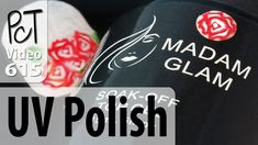 Madam Glam UV Gel Polish (Review) Polymer Clay Nail Art - YouTube