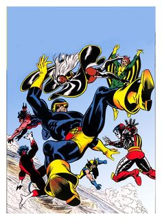 X-MEN  by Dave Cockrum