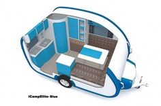 The Joy Of Having A Camping Camper RV On A Camping Trip - family camping site Kombi Trailer, Small Camper Trailers, Small Travel Trailers, Tiny Camper, Small Trailer, Small Campers, Cool Campers, Camping Trailers, T1 Bus