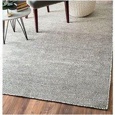 nuLOOM Handmade Flatweave Concentric Diamond Trellis Wool/ Cotton Rug (10' x 14'