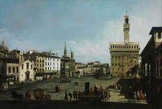 Bernardo Belloto. #landscape #paisaje #painting #pintura