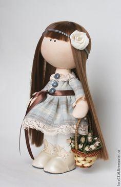 Коллекционные куклы ручной работы. Ярмарка Мастеров - ручная работа. Купить Дарёна. Handmade. Авторская ручная работа, ретро стиль