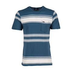 Striped right, the Hayward Stripe Crew Tee isn't shy about demanding attention. A favorite among the skater sets, with a slim fit, a chest pocket, and the super smooth feel of cotton jersey.Item Number A0111606