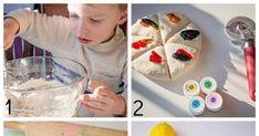 Masas que endurecen para hacer:  Escultura, Modelado, Relieves.   Masa de sal para imitación de Mosaico:           necesitas hacer la masa... Pasta Flexible, English Class, Recycled Art, Clay, Desserts, Ideas, Food, Noodle, Mariana