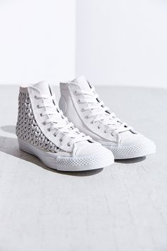 Converse All-Star Woven Suede High-Top Sneaker - Urban Outfitters