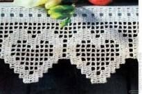 This is an interesting and nice stitch pattern: the Chevron Retro Stitch Wave Crochet pattern which I'm sure you guys would like to know how it is done. This lace chevron stitch is easy to make and is perfect for shawls and blankets. Crochet Edging Patterns, Crochet Lace Edging, Crochet Borders, Crochet Chart, Thread Crochet, Crochet Trim, Love Crochet, Crochet Doilies, Crochet Stitches