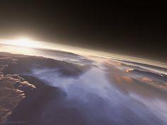 Morning On Mars, Martian sunrises, as seen by the HiRISE orbiter