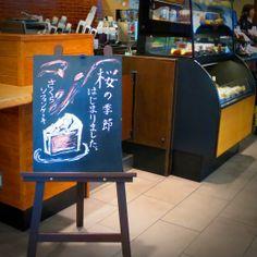 Starbucks Cherry blossom season is coming!