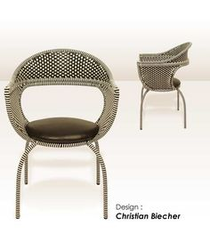 drucker via walters wicker... needs this chair...Collection Fauteuils Eiffel