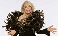 Joan Rivers (June 1933- September 2014): 'The first time I see a jogger smiling, I'll consider it.' Picture: Reuters