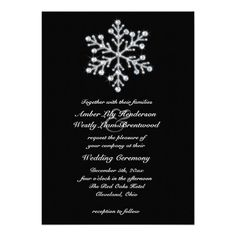 Sparkly winter wedding invitations just in time for Winter 2013 #Weddings #WeddingInvitations