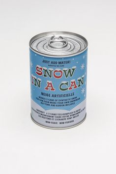 I DEFINITELY got this for Wyeth.. He loved the thought of it, but said it was more like slush. SNOW IN A CAN! great idea for a winter deployment:)