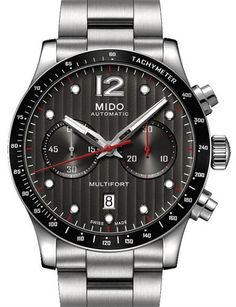 c27f7161a461 Mido m025.627.11.061.00 multifort - multifort chrono black