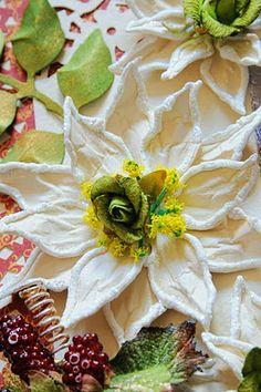 Tutorial - Handmade Flower - White Pointsettia