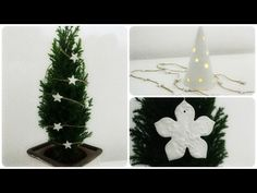 (1) Weihnachtliche Ornamente mit Modelliermasse * DIY * Christmas Ornaments [eng sub] - YouTube Christmas Time, Xmas, Christmas Ornaments, Christmas Ideas, Holiday Decor, Youtube, Advent, Home Decor, Crafts