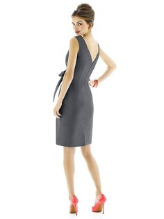Alfred Sung Style D597 http://www.dessy.com/dresses/bridesmaid/d597/#.Vdoq2FNViko