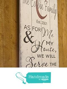 Personalized Wood Sign from Rusticly Inspired Signs https://www.amazon.com/dp/B01MG4WGMP/ref=hnd_sw_r_pi_dp_Oj3dyb13HPGD7 #handmadeatamazon
