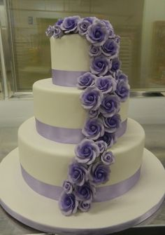 Two-toned purple roses