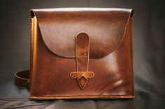 "Bag Brown ""Desire""/ Woman Leather Bag / Leather Handbag / Leather Shoulderbag / Handbag / Shoulderbag / Crossbody Bag"