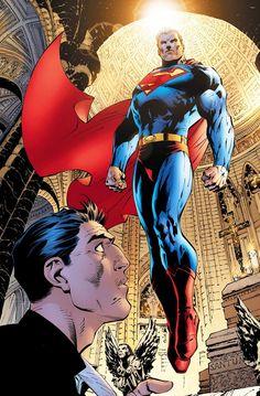 Superman #204 - Jim Lee