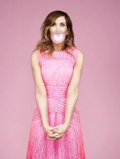 Kristin Wiig. One of the funniest women alive. Also my BFF's personality doppelgänger. :)