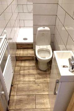 Apartment Bathroom Design, Tiny House Bathroom, Bathroom Design Small, Master Bathroom, Bathroom Designs, Small Bathrooms, Bathroom Interior, Kitchen Interior, Small Appartment