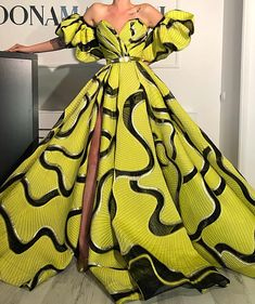 African Clothing Design For Beautiful Ladies To Try Out - African fashion African Prom Dresses, African Fashion Dresses, African Dress, Ankara Dress Styles, African Style, Fashion Outfits, Elegant Dresses, Pretty Dresses, Gowns For Girls